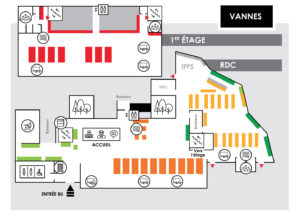Plan Bibliothèque UBS Vannes